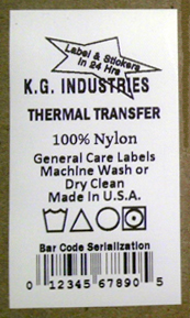 Clothing Garment Care Label Symbols And Instructions